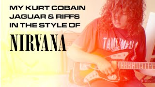 MY FENDER KURT COBAIN JAGUAR GUITAR | NIRVANA Style Sounds & My Experience