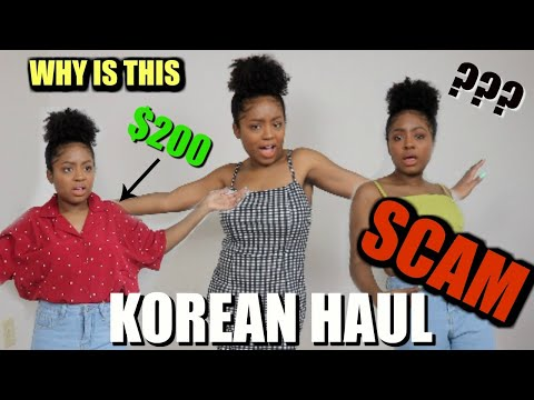 TRYING KOREAN FASHION?? TRY ON HAULYESSTYLE
