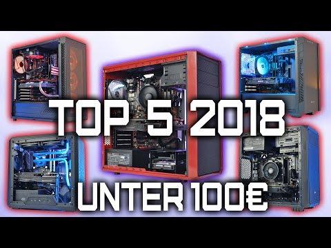 Die BESTEN Gehäuse UNTER 100 Euro - TOP 5 Gaming PC Gehäuse 2018