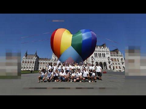 Όλα έτοιμα για την «Παρέλαση υπερηφάνειας»στη Βουδαπέστη…