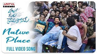 Native Place Full Video Song (4K)    Hello Guru Prema Kosame Video Songs    Ram, Anupama    DSP