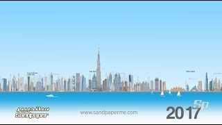 The history of Dubai's Skyscrapers 1978- 2020- A timeline of Dubai's buildings past to future.