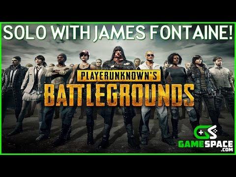 Player Unknown Battlegrounds - Solo Kills with James Fontaine!