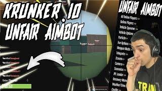 """KRUNKER.IO """"CHEAT MENU"""" (INSTA KILL AIMBOT) W/ REACTIONS"""