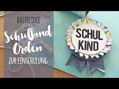 Bastelidee: Orden für Schul- und Kindergartenkinder | danipeuss.de