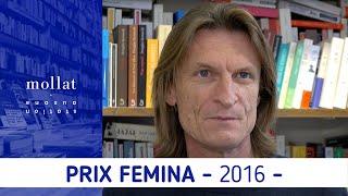 Marcus Malte vous présente Le garçon, prix Femina 2016