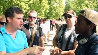 Bob tells young visitor he's been fed lies about Islam | Speakers Corner