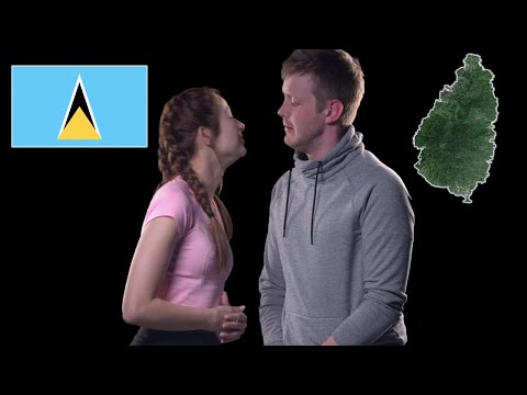 Svatá Lucie - Geography Now!