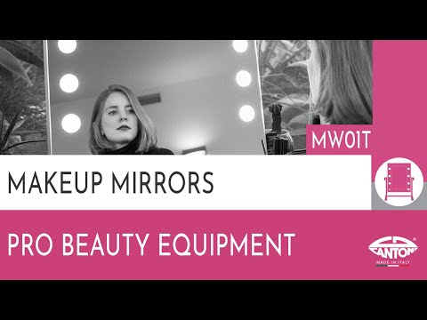 video MW01T LIT-UP TABLETOP MIRROR