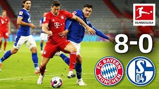 Bayern dominates Schalke with 8 goals! | FC Bayern - Schalke | 8-0 | Matchday 1 – Bundesliga 20/21