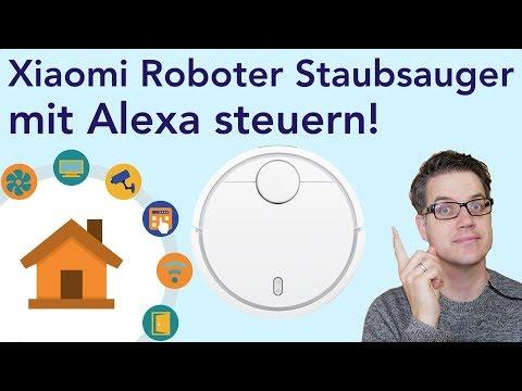 Xiaomi Staubsauger mit Alexa steuern!