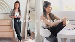 12 Things I'm Doing to Stay Positive in Quarantine | Favorite Things To Do at Home | Miss Louie