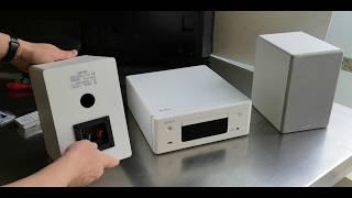 Denon Ceol N10 Unboxing plus the SC-N10 speakers