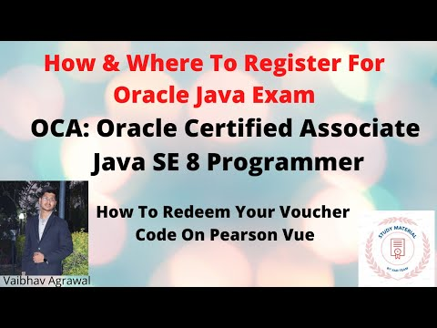 How/Where To Register For Oracle Java Exam Certification | OCA