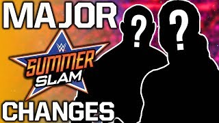 Major WWE SummerSlam 2019 Match Card Changes   New Champions Crowned On Raw
