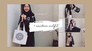 7 Random Outfit: Cocok Untuk Ootd Ke Kampus // Inspirasi Hijab Outfit #ootd #fashion