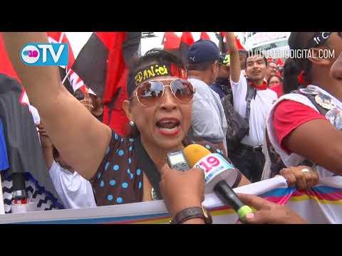 Miles se desbordan en Managua para clamar por la paz y la tranquilidad