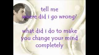 David Archuleta- Tell Me Lyrics