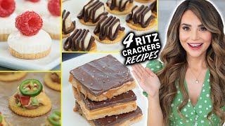 4 EASY Recipes Using RITZ CRACKERS! thumbnail