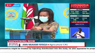 CAS Mukami assures Agriculture ministry efforts to curb zoonotic disease spread