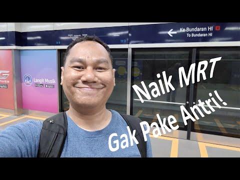 Mau Naik MRT Jakarta? Pakai E-Toll Card Saja!