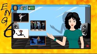 สื่อการเรียนการสอน Different Types of Dances ป.6 ภาษาอังกฤษ