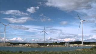 preview picture of video 'Windmills near to Mosonmagyaróvár, Hungary'
