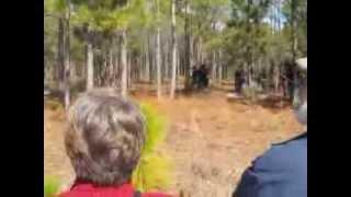 Battle of forks road reenactment 1 - Video Youtube