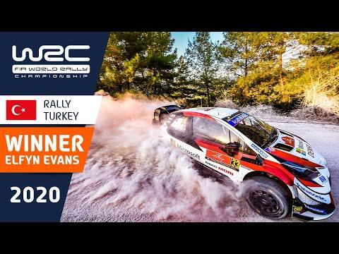 勝者エバンスの気合の走りをまとめたダイジェスト動画。WRC ラリー・ターキー(トルコ)優勝したTOYOTA GazooRacingのE・エバンスのハイライト動画