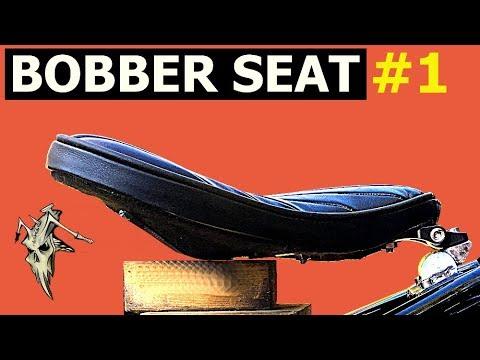 Bobber Seat Build #1 Fifties Classic Bobber XVS 650 #5