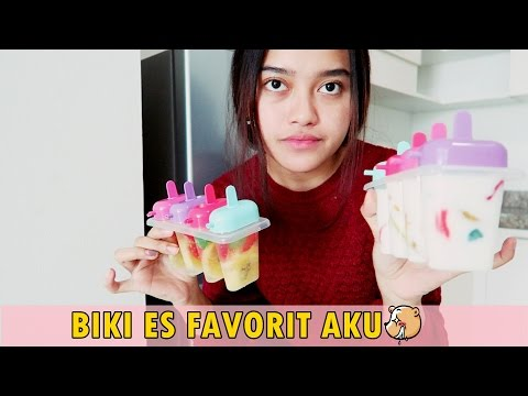 Video DIY POPSICLES (ES STICK) | Indira Kalistha