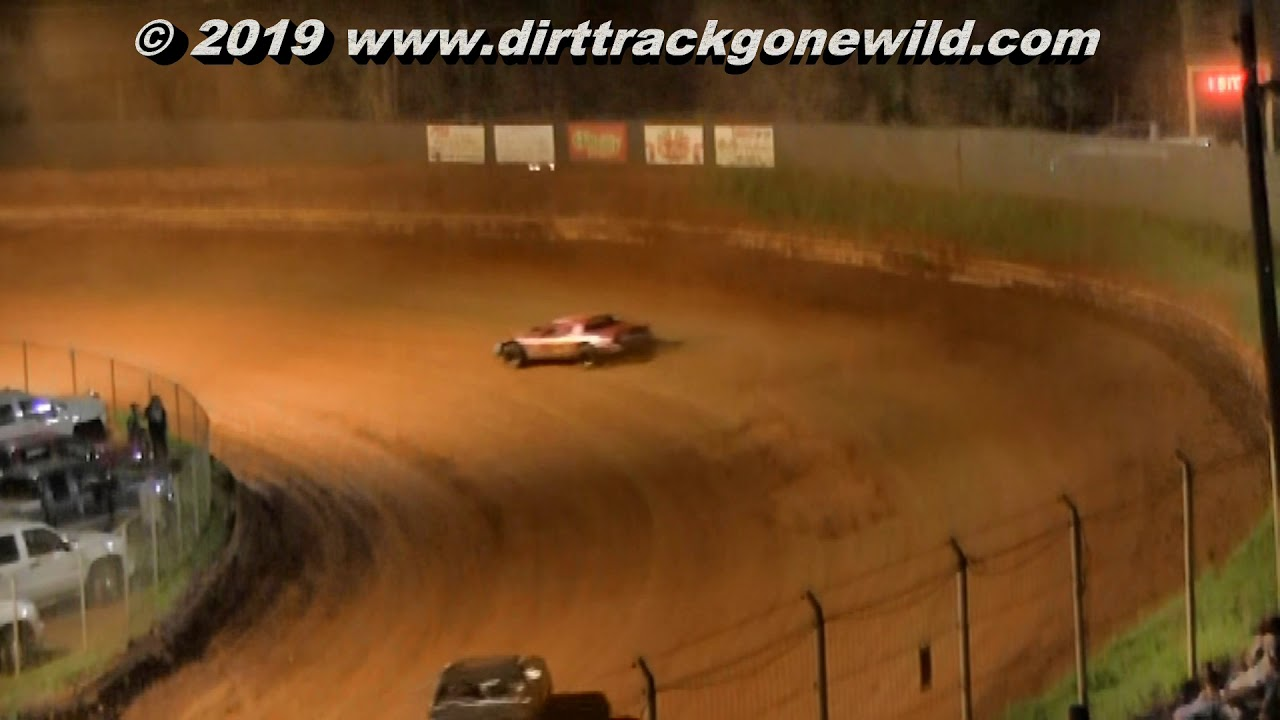 Stock 8 Main at Toccoa Raceway August 3rd 2019