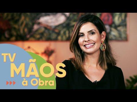 TV MÃOS À OBRA   MESA DE CENTRO É O TOQUE ESPECIAL DA SALA   Exibido 10/04/2021