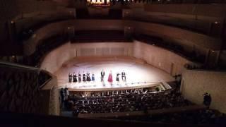 """На опере """"Вертер"""" Массне. Концертный зал Мариинского театра СПб."""