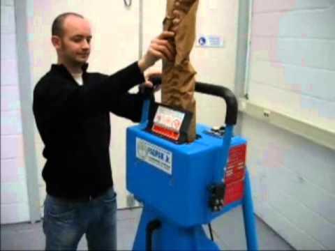 PadPak Junior maszyna - wypełniacze papierowe - zdjęcie