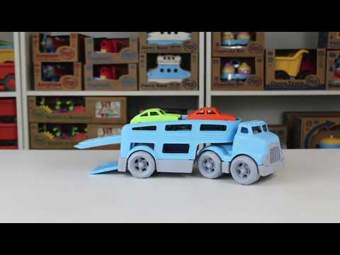 Green Toys – Car Carrier Vehicle Set Toy Blue