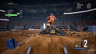 Monster Energy Supercross 3 - Multiplayer Gameplay (PS4 HD) [1080p60FPS]