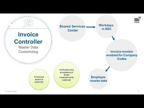 SNP Invoice Controller – Monitoring of costs and efficiency of recording invoices in SSC
