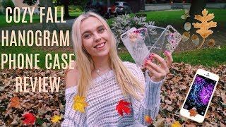 COZY FALL DAY + IPHONE CASE (HANOGRAM) REVIEW! AESTHETIC CASES!