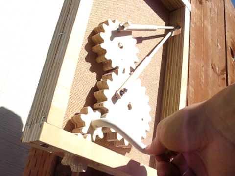New Wooden Gears Sculpture Video Simon Yuen