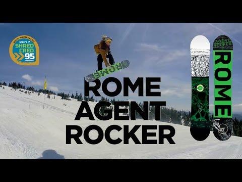 Rome Agent Rocker Snowboard Review – Board Insiders – 2017 Rome Snowboards Agent Rocker Review