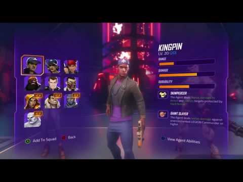 Agents of Mayhem - Trailer de la fonction