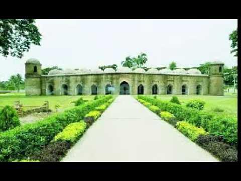 Sixty dome mosque (Saat Gombuz Masjid),