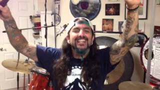 Mike Portnoy's 'Gong Cam' for Haken's 'Crystallised'