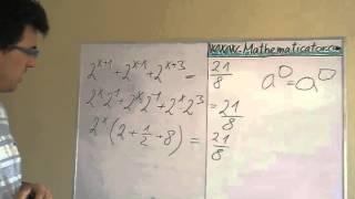 Exponenciální rovnice 2