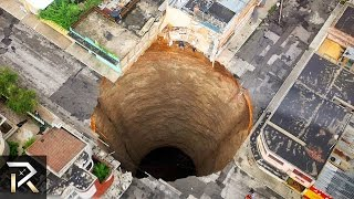 10 Largest Holes Swallowing The Earth