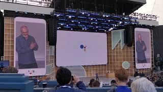 Google Assistant super-speedy next-gen demo at Google IO 2019