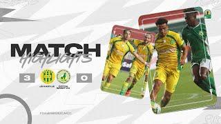 CAF CC | Demi finale retour : JS Kabylie 3 – 0 Coton Sport FC