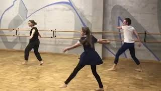 Контемпорари. Танцы в Митино