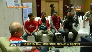 PSSI Undang Aliansi Suporter Indonesia di Malaysia